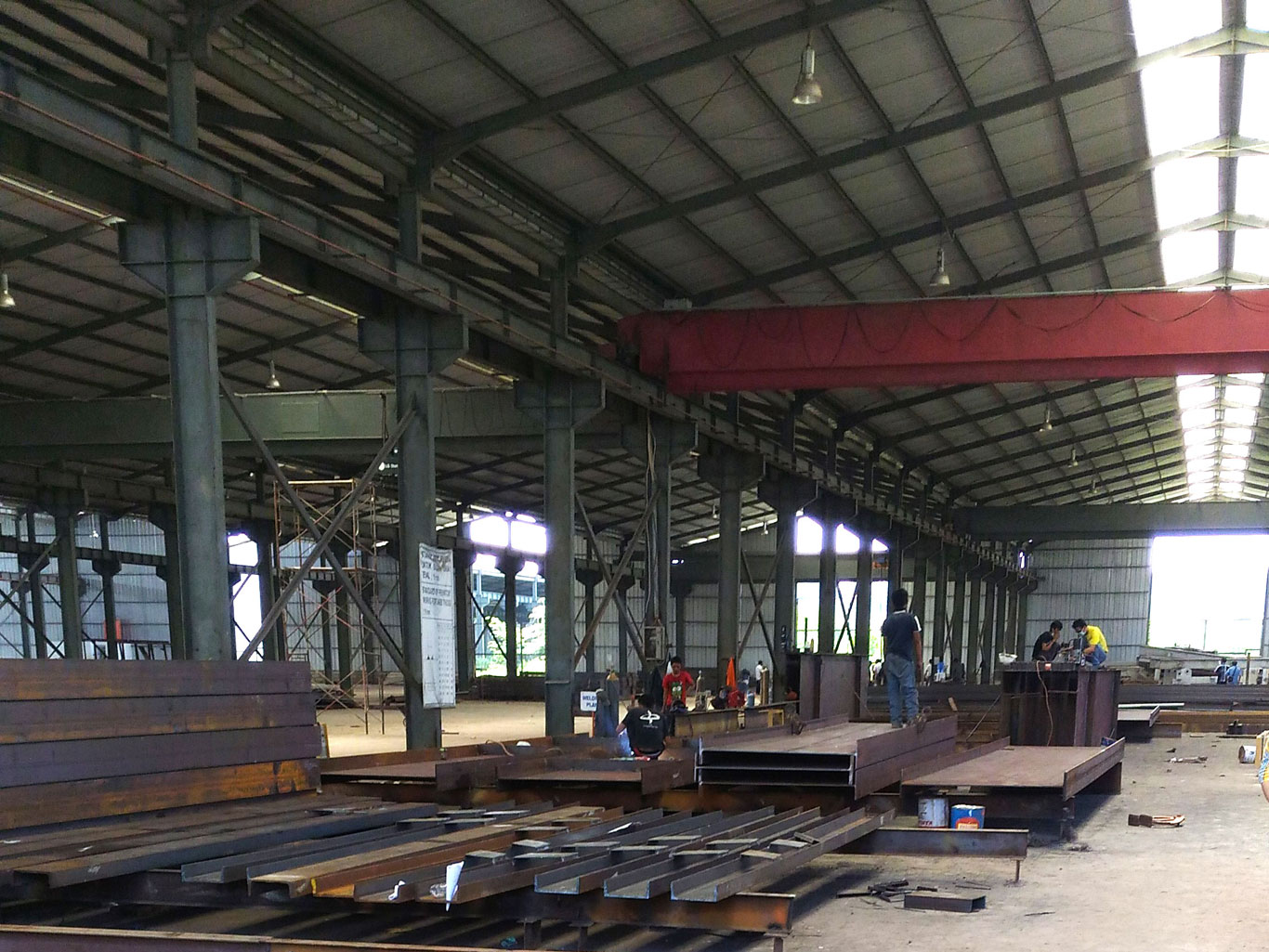 SMPSteel Welded Beam